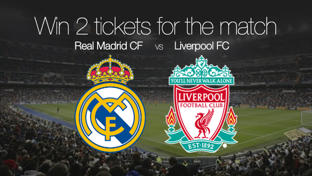 Win 2 tickets for the match vs. Liverpool